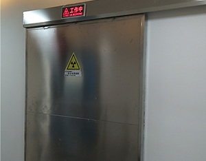 彭州磊洛医院铅门安装案例