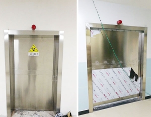 武胜县医养结合医院防护工程安装完工