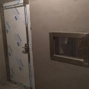 雅安名山区牙科诊所防辐射门安装