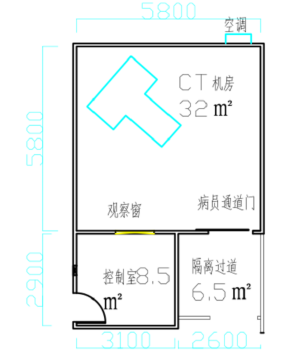 CT机房射线防护可以制作成临时性移动防护机房吗?
