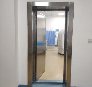 物流延误是影响防辐射门安装进度的主要原因吗?
