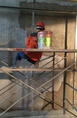 墙体对硫酸钡的涂抹为什么要使用钢网呢?