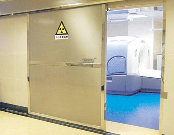 CT射线防护铅门