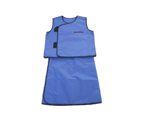 连体无袖射线防护服