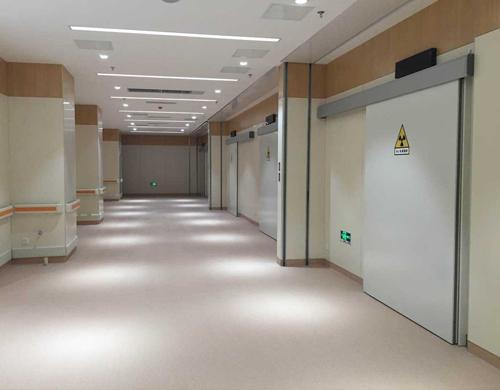 全景机室防辐射门